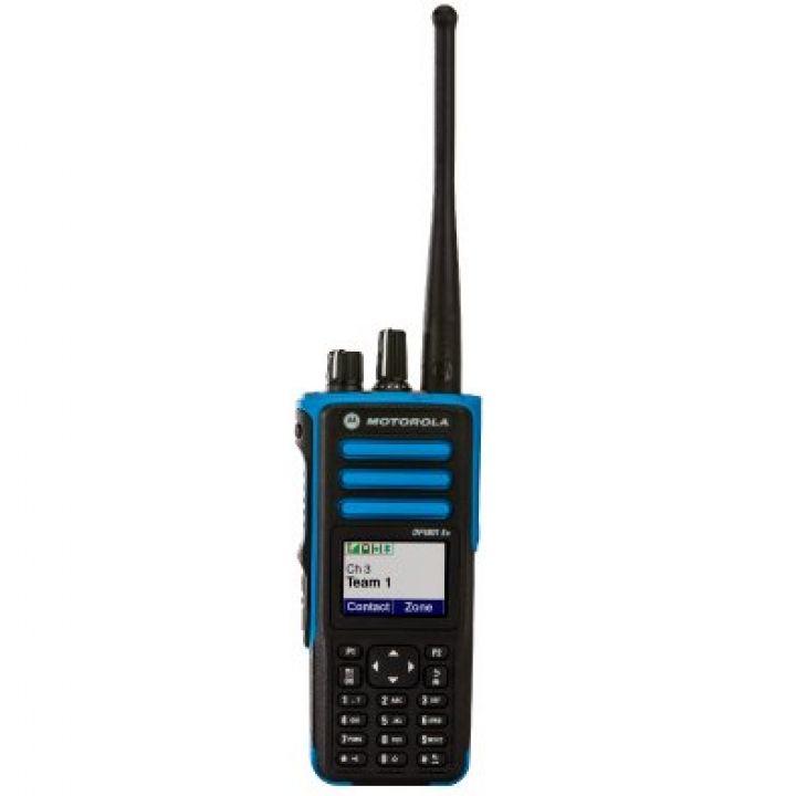Motorola Портативная радиостанция Motorola DP4801 Ex (ATEX) 136-174 МГц. (MDH56JCN9QA5_N) (MDH56JCN9QA5_N)