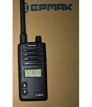 Безлицензионная рация Ермак P-4020 400-470 MГц, в комплекте с антенной, Li-ION АКБ 1500mAh, З/У