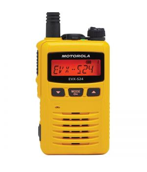 Motorola Носимая рация Motorola Vertex (CE) 403-480 МГц, 3Вт с дисплеем (AC146U512-MSI) желтая (EVX-S24-G6-3 (CE)         )