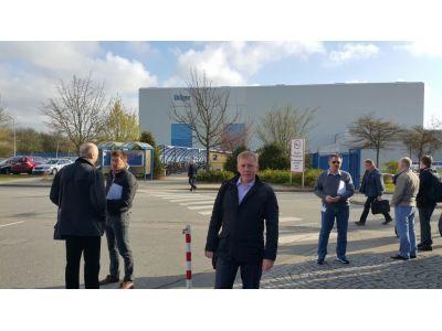 ГК ЩИТ на «Safety Russia Dealer meeting», завод Drager, Любек, Германия