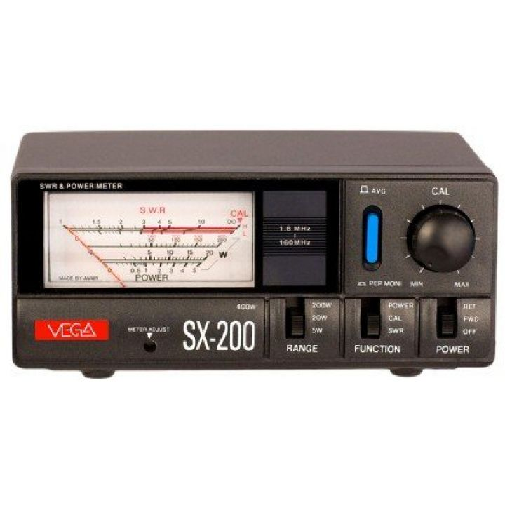 Измеритель КСВ и мощности Vega SX 200