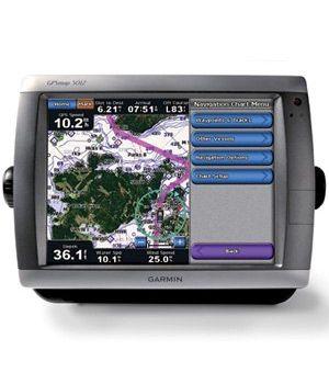 Морской навигатор Garmin GPSMAP 5012 BlueChart G2 Russia
