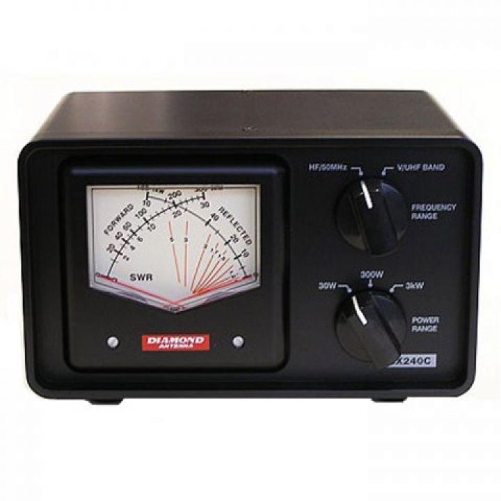 Измеритель КСВ и мощности Diamond SX-240 C