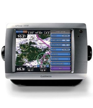 Морской навигатор Garmin GPSMAP 5008 BlueChart G2 Russia